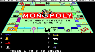 DOS Leisure Genius presents Monopoly