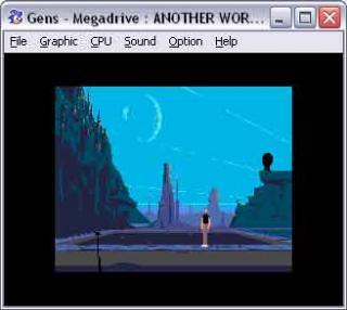 Sega Genesis Another World