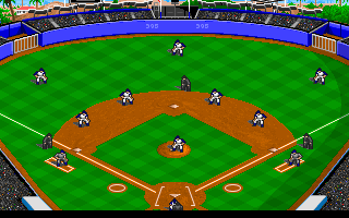 DOS MicroLeague Baseball 4