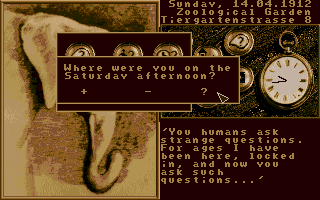 DOS Mystery of the Mummy