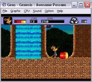 Sega Genesis Awesome Possum