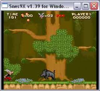 Super Nintendo Asterix