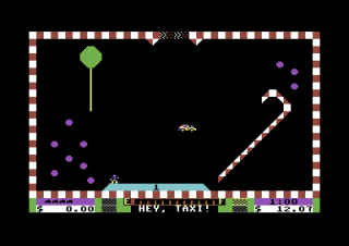 Commodore 64 Space Taxi