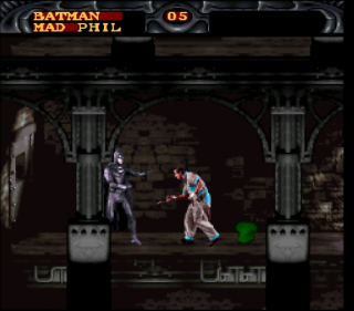Super Nintendo Batman Forever