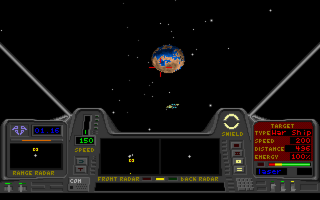 DOS Star Quest 1 in the 27th Century