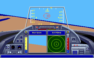DOS Top Gun: Danger Zone