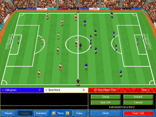 DOS Ultimate Soccer Manager 2
