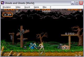 Capcom CPS1 Ghouls and Ghosts