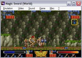 Capcom CPS1 Magic Sword