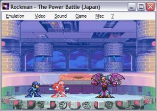 Capcom CPS1 Rockman - The Power Battle