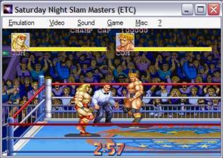 Capcom CPS1 Saturday Night Slam Masters