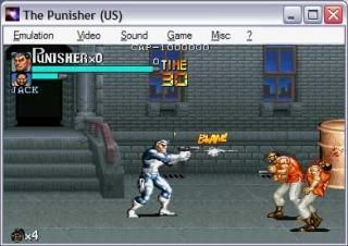 Capcom CPS1 Punisher, The