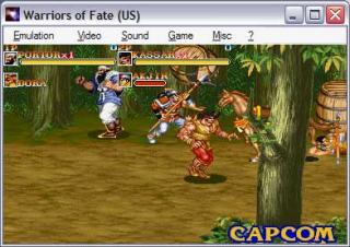Capcom CPS1 Warriors of fate