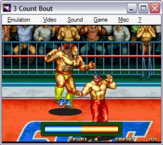 Neo-Geo 3 Count Bout