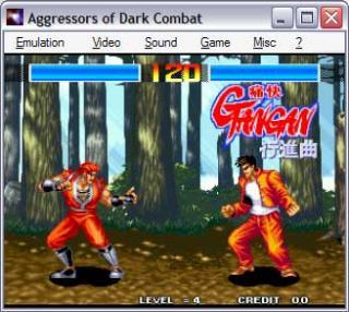 Neo-Geo Aggressors of Dark Combat