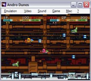 Neo-Geo Andro Dunos