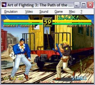 Neo-Geo Art of Fighting 2: The Path of the Warrior