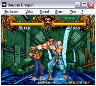 Neo-Geo Double Dragon