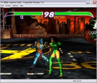 Nintendo 64 Killer Instinct Gold