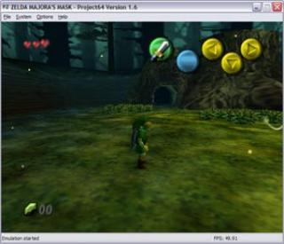 Nintendo 64 Legend of Zelda 2, The - Majora Mask
