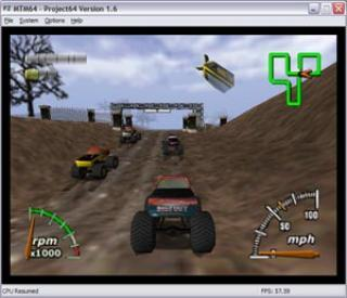 Nintendo 64 Monster Truck Madness 64