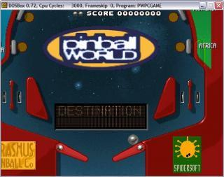 DOS Pinball World