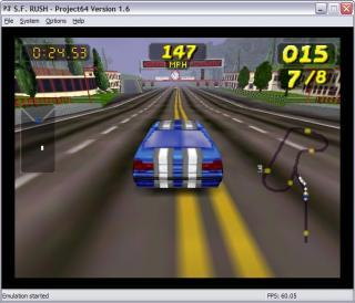 Nintendo 64 San Francisco Rush