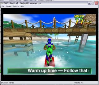 Nintendo 64 Wave race
