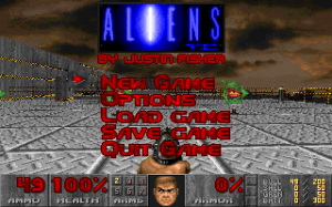 DOS Aliens DooM