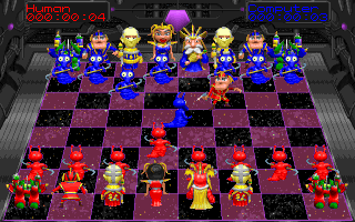 DOS Battle chess 4000
