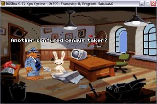 DOS Sam and Max