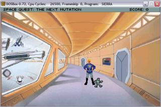 DOS Space Quest V