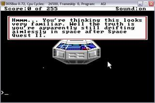 DOS Space Quest The Lost Chapter