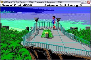 DOS Leisure Suit Larry III: Passionate Patti in Pursuit of the Pulsating Pectorals