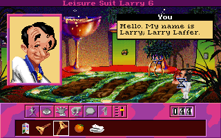 DOS Leisure Suit Larry 6: Shape Up or Slip Out!