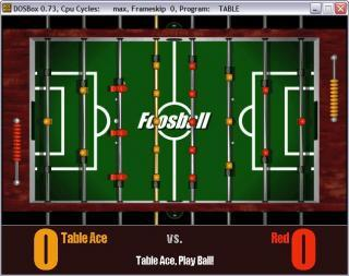DOS 3D Table Sports