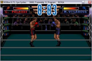 DOS 3d World Boxing