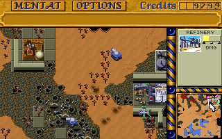 DOS Dune 2: The Building Of A Dynasty