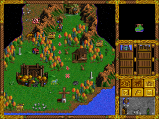 DOS Heroes of Might and Magic