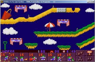 DOS Lemmings 2 - The Tribes