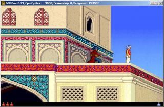 DOS Prince of Persia 2 The Shadow And The Flame