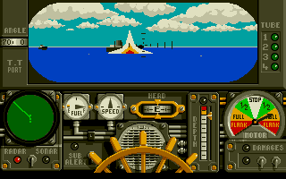 DOS Advanced Destroyer Simulator