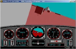 DOS Advanced Flight Trainer